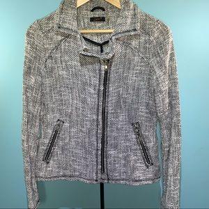 DEX Moto Style tweed spring jacket ladies medium